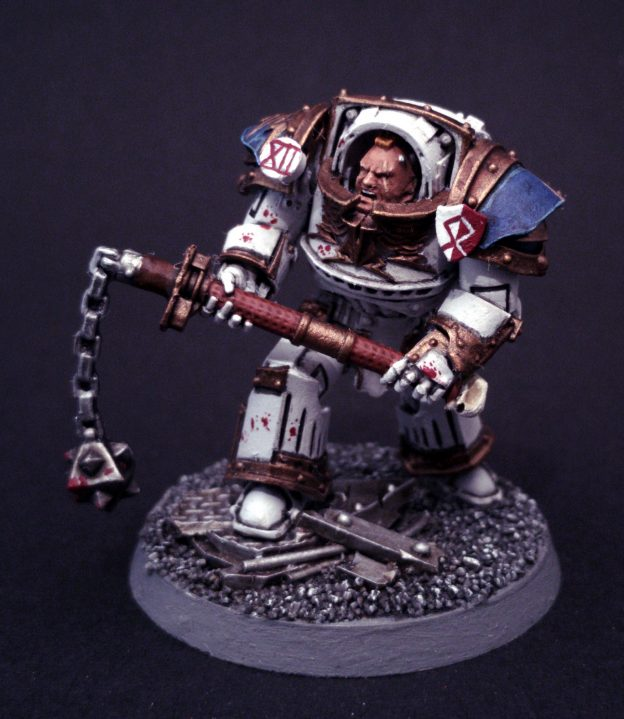World Eaters Praetor / Chaos Lord - Conversion of Praetor Tribune
