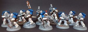 World Eaters Tactical Squad - Bolter and 2 Missile Launchers