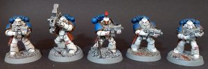 World Eaters Tactical Squad 2 - Bolter and Missile Launcher