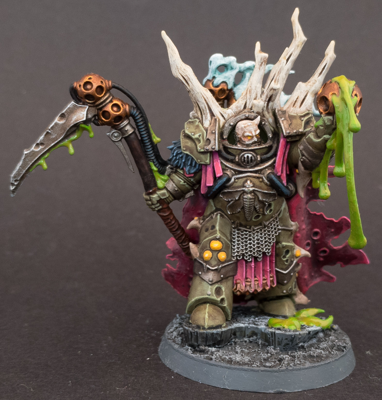Lord Felthius Head Swap painted