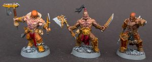Bloodreavers painted with Contrast Colors
